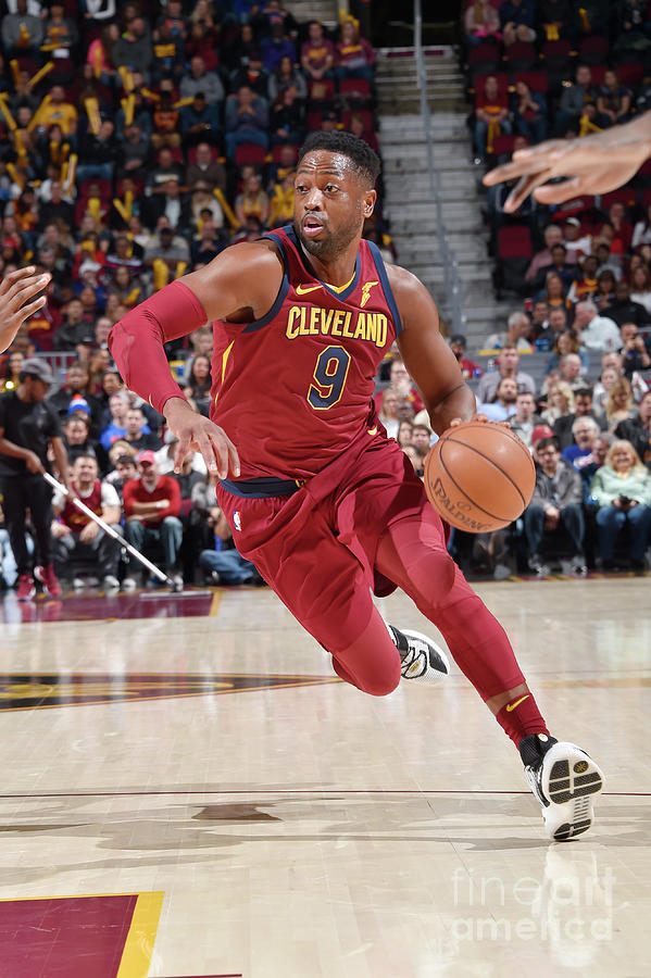 Dwyane Wade Photograph by David Liam Kyle