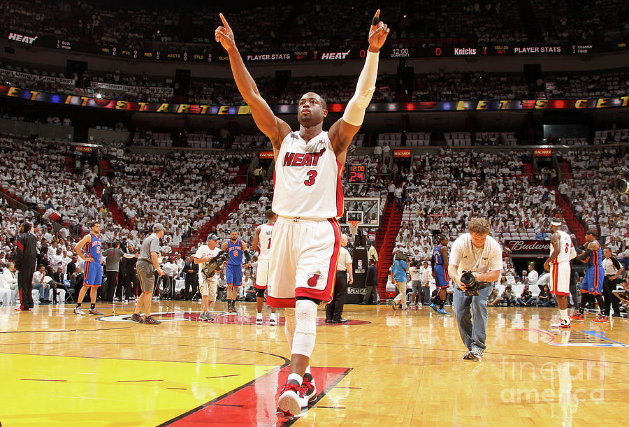 Dwyane Wade Photograph by Nathaniel S. Butler