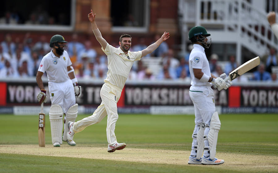 England v South Africa - 1st Investec Test: Day Four Photograph by Gareth Copley