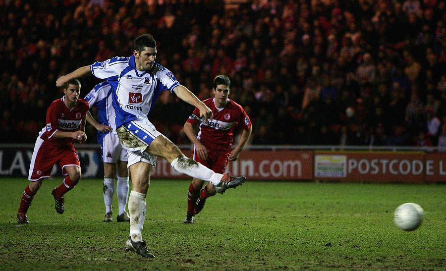 FA Cup Replay: Middlesbrough v Nuneaton Borough Photograph by Laurence Griffiths