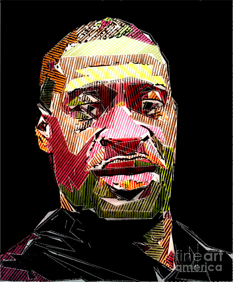 George Floyd Digital Art