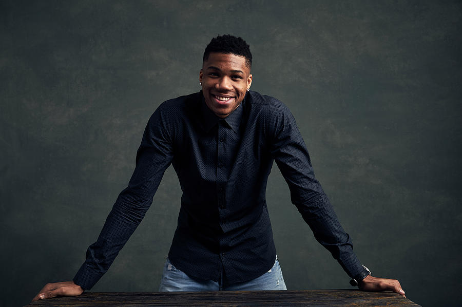 Giannis Antetokounmpo Photograph by Jennifer Pottheiser