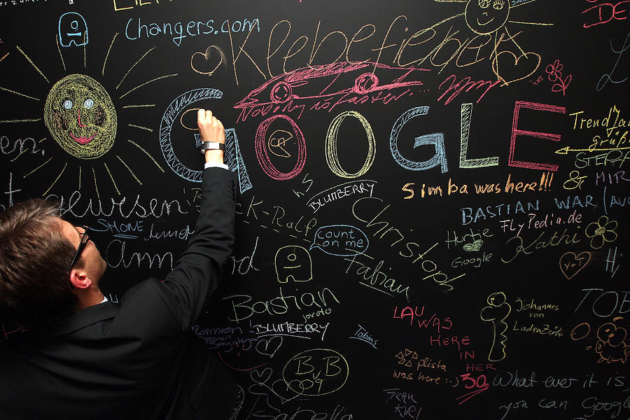 Google Opens New Berlin Office Photograph by Adam Berry