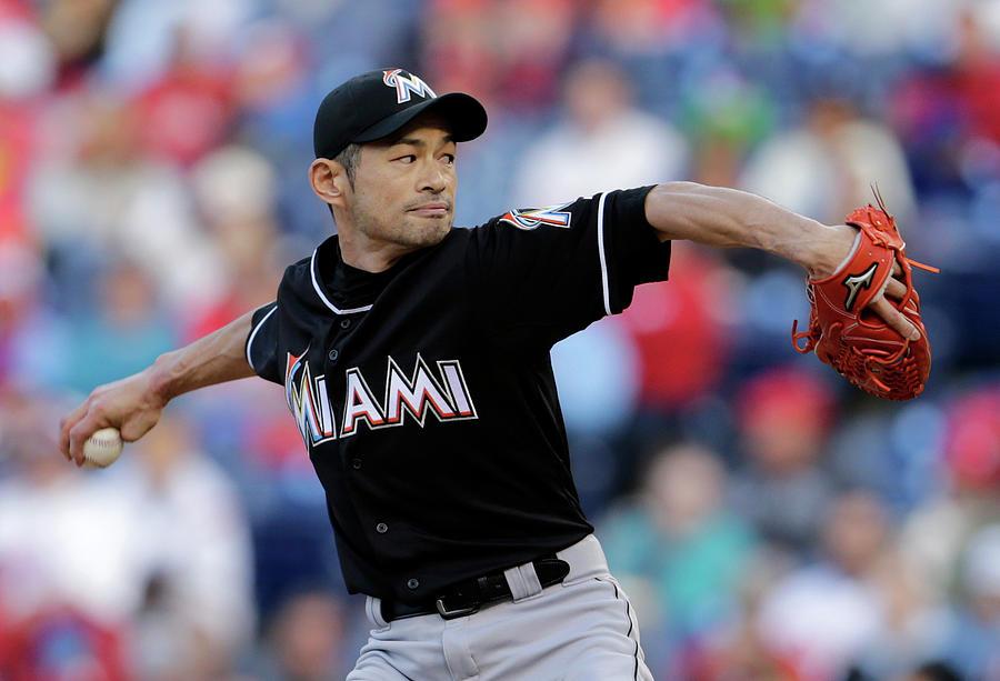 Ichiro Suzuki Photograph by Adam Hunger