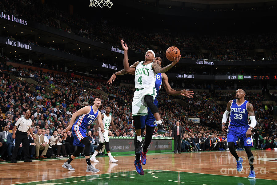 Isaiah Thomas Photograph by Brian Babineau