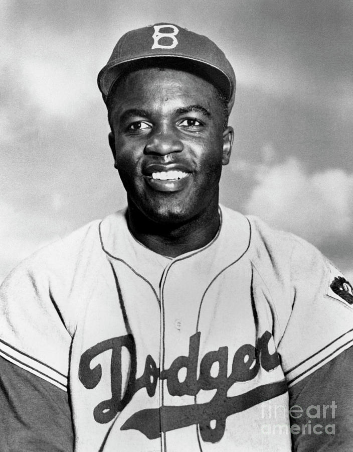Jackie Robinson Photograph by National Baseball Hall Of Fame Library