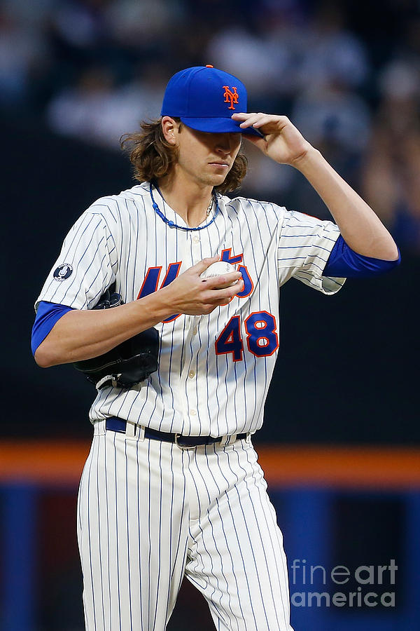 Jacob Degrom Photograph by Mike Stobe