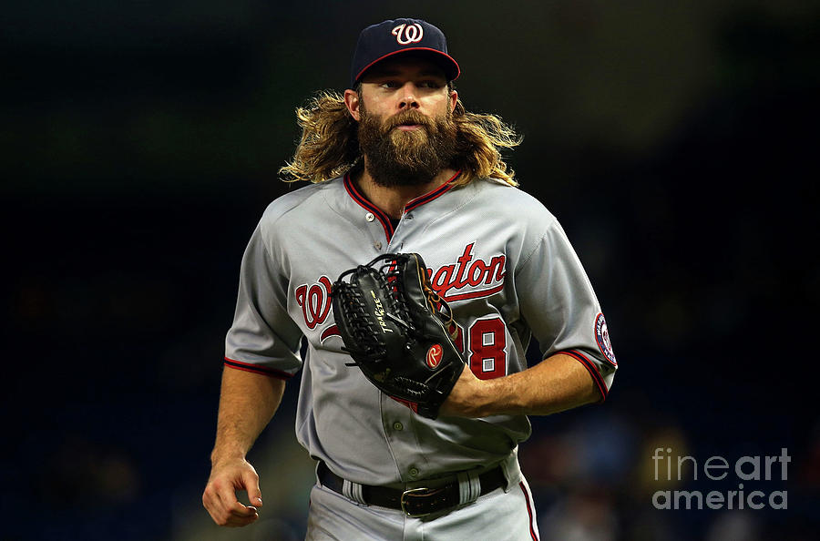 Jayson Werth Photograph by Mike Ehrmann