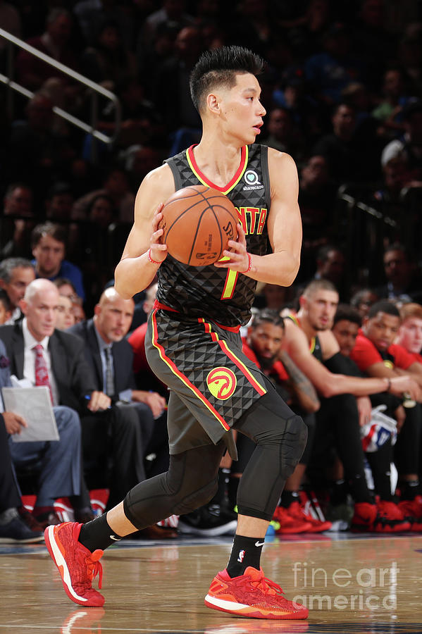Jeremy Lin Photograph by Nathaniel S. Butler