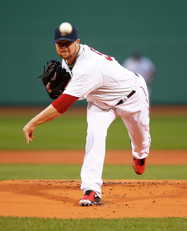 Jon Lester Photograph by Jared Wickerham