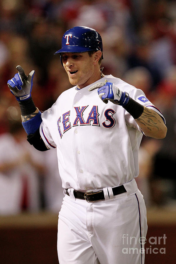 Josh Hamilton Photograph by Ronald Martinez