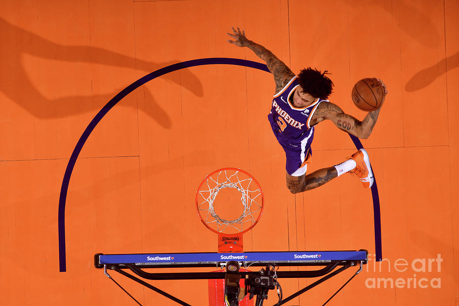 Kelly Oubre Photograph by Barry Gossage