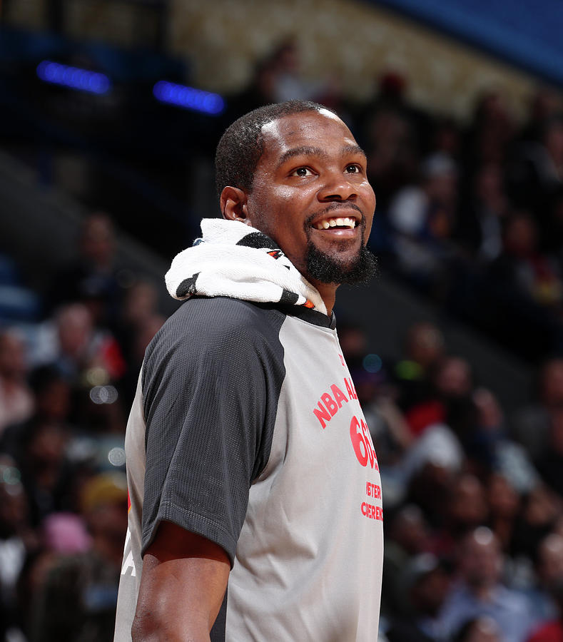 Kevin Durant Photograph by Nathaniel S. Butler
