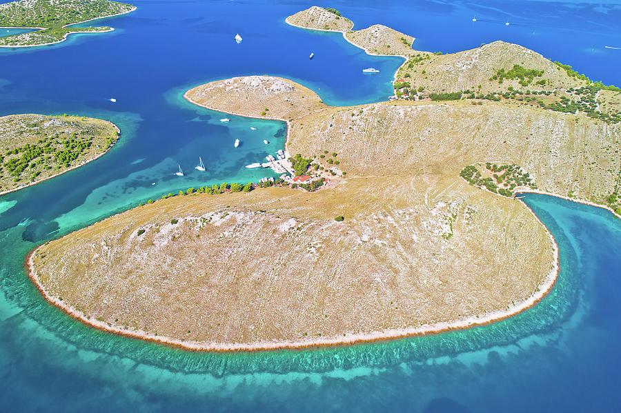 Kornati. Amazing Island Archipelago Landscape Of Kornati Nationa Photograph