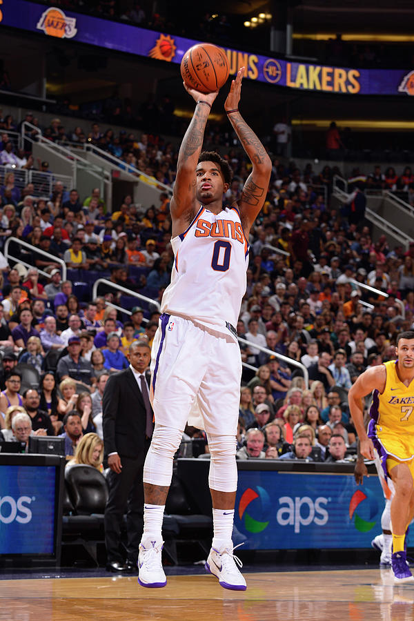 Marquese Chriss Photograph by Barry Gossage
