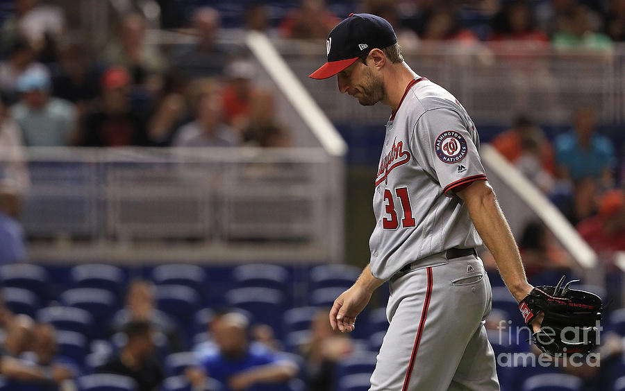 Max Scherzer Photograph by Mike Ehrmann