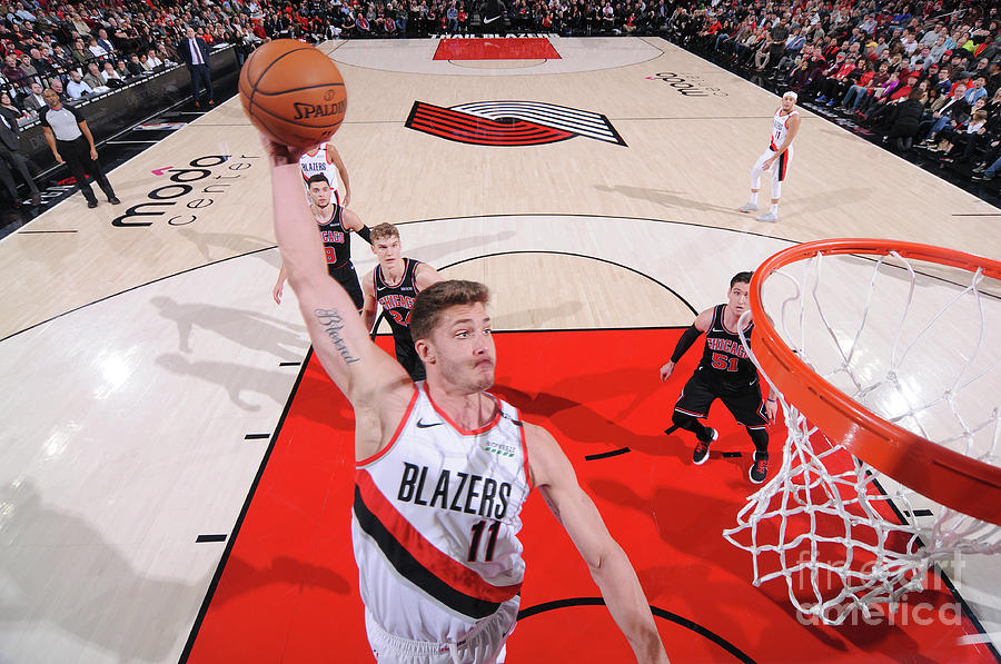 Meyers Leonard Photograph by Sam Forencich