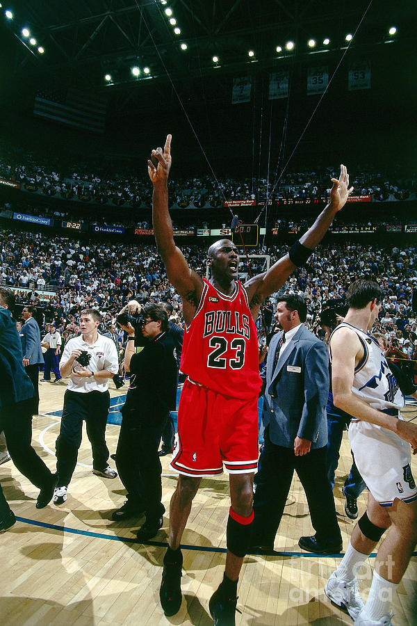 Michael Jordan Photograph by Nathaniel S. Butler