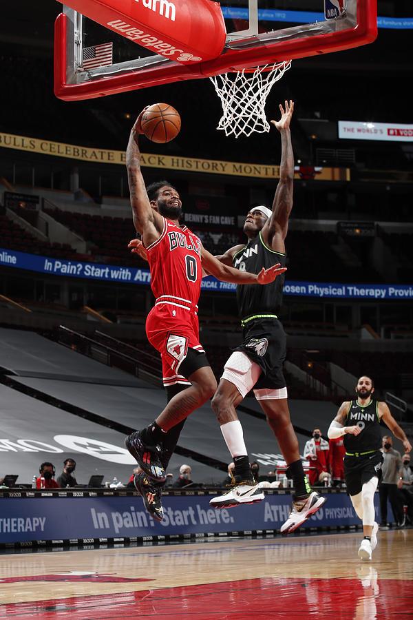 Minnesota Timberwolves v Chicago Bulls Photograph by Jeff Haynes