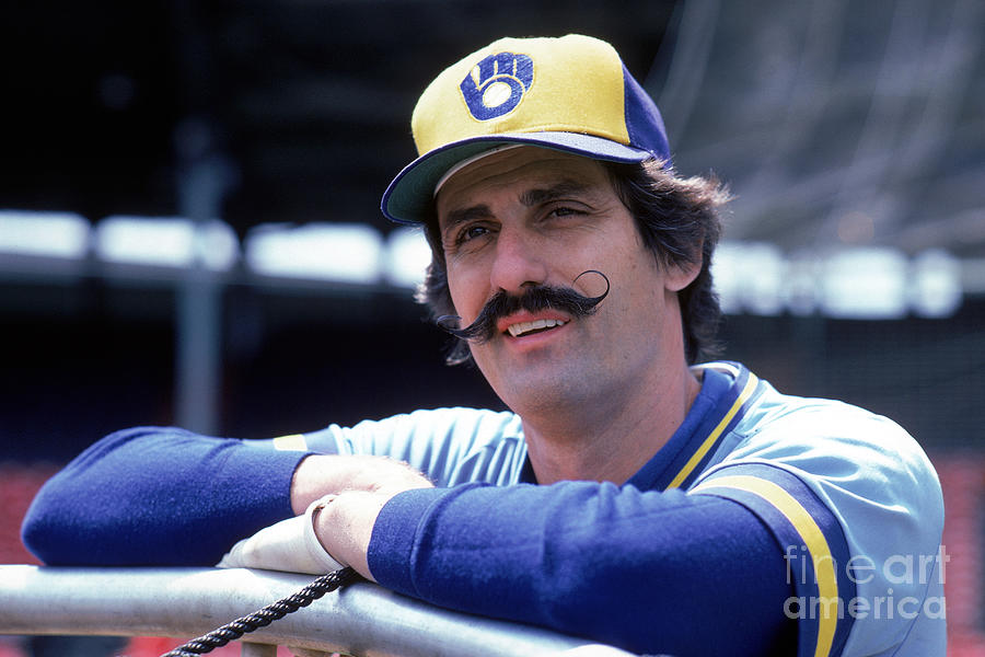 Rollie Fingers Photograph by Rich Pilling