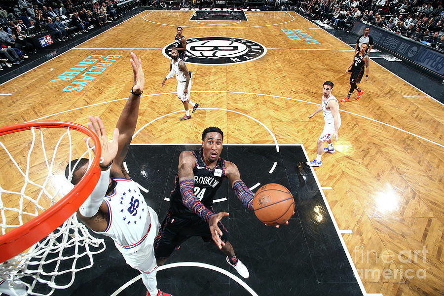 Rondae Hollis-jefferson Photograph by Nathaniel S. Butler