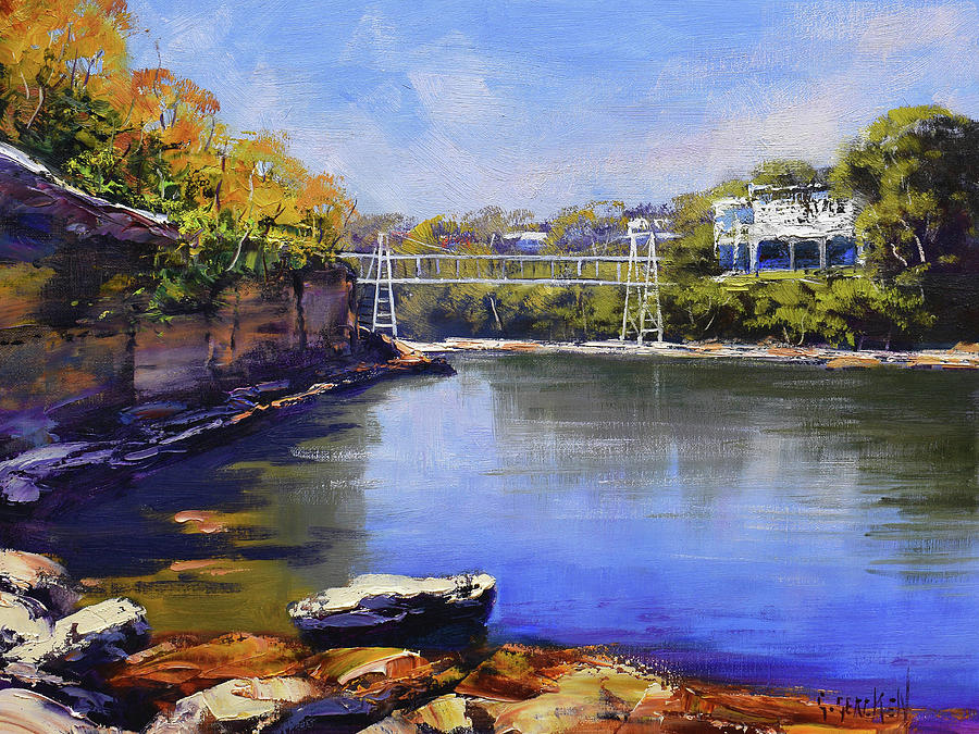 Sydney Harbour Beach Painting