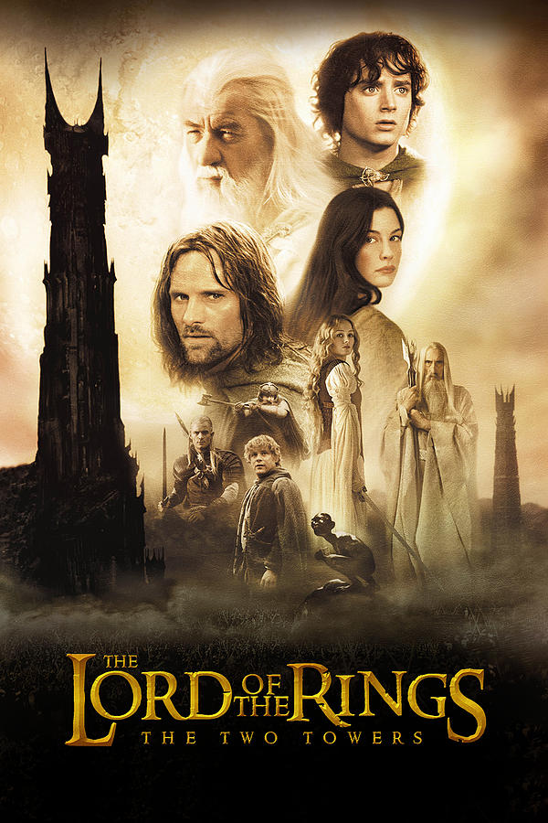 The Lord Of The Rings The Two Towers 2002 Digital Art By Geek N Rock