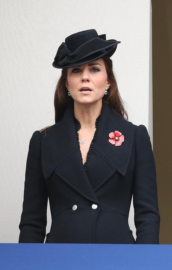 The UK Observes Remembrance Sunday Photograph by Chris Jackson