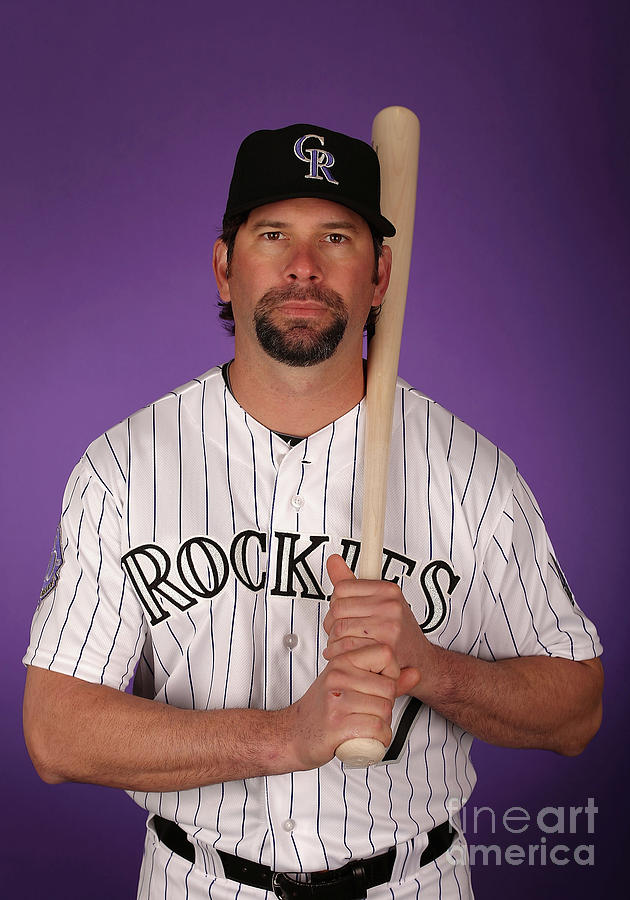 Todd Helton Photograph by Christian Petersen