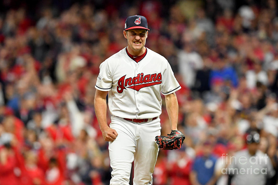 Trevor Bauer Photograph by Jason Miller