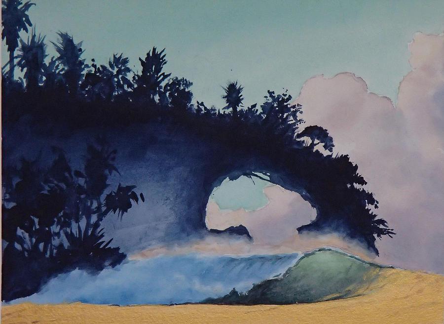 Ocean Painting - Untitled 4 by Philip Fleischer