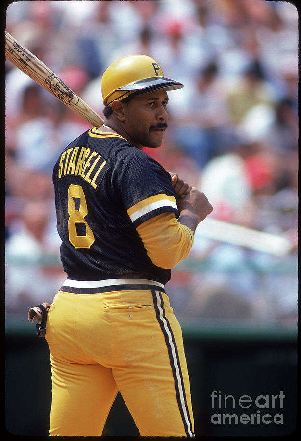Willie Stargell Photograph by Rich Pilling
