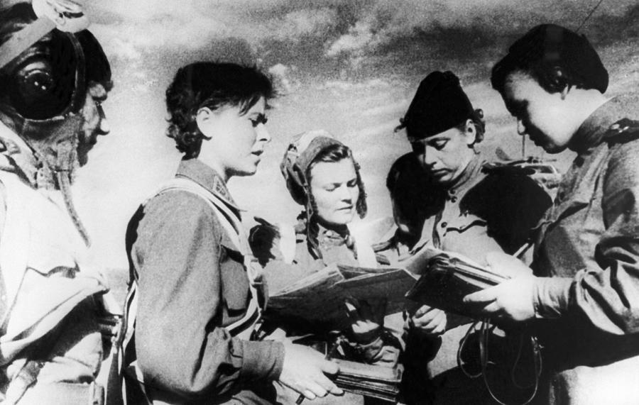 World War II, 1942 Photograph by Tass