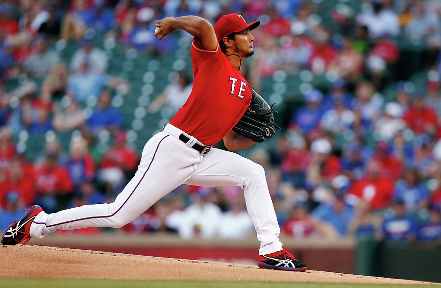 Yu Darvish Photograph by Tom Pennington
