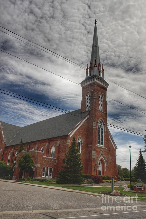 4005 - Frankenmuth Catholic Church I by Sheryl L Sutter