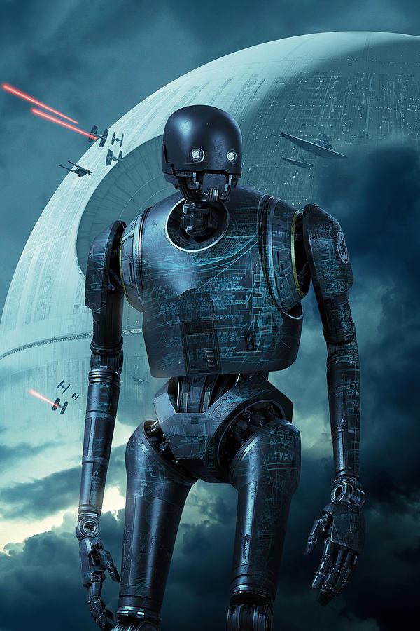 Rogue One A Star Wars Story 2016 Digital Art By Geek N Rock