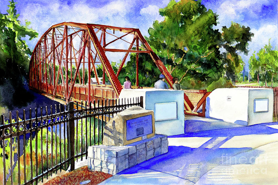 #413 Ice House Bridge by William Lum