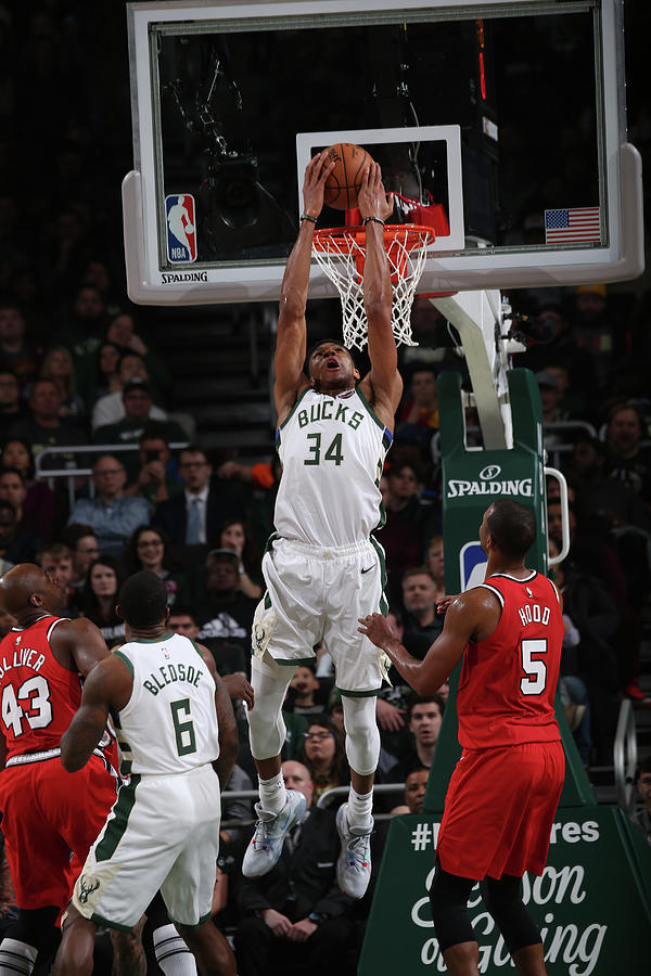 Giannis Antetokounmpo Photograph by Gary Dineen