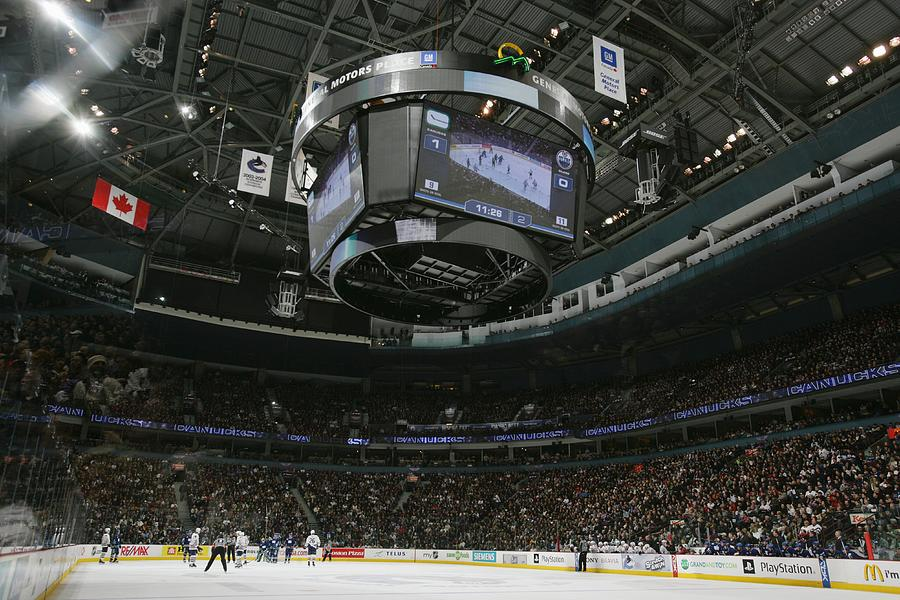 Edmonton Oilers v Vancouver Canucks Photograph by Jeff Vinnick