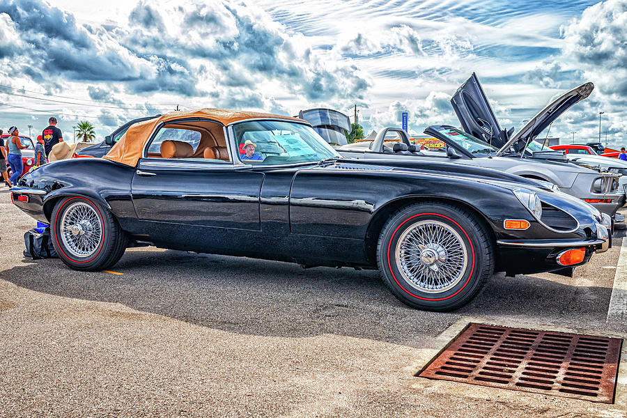 1973 Jaguar Xke E-type Convertible Photograph