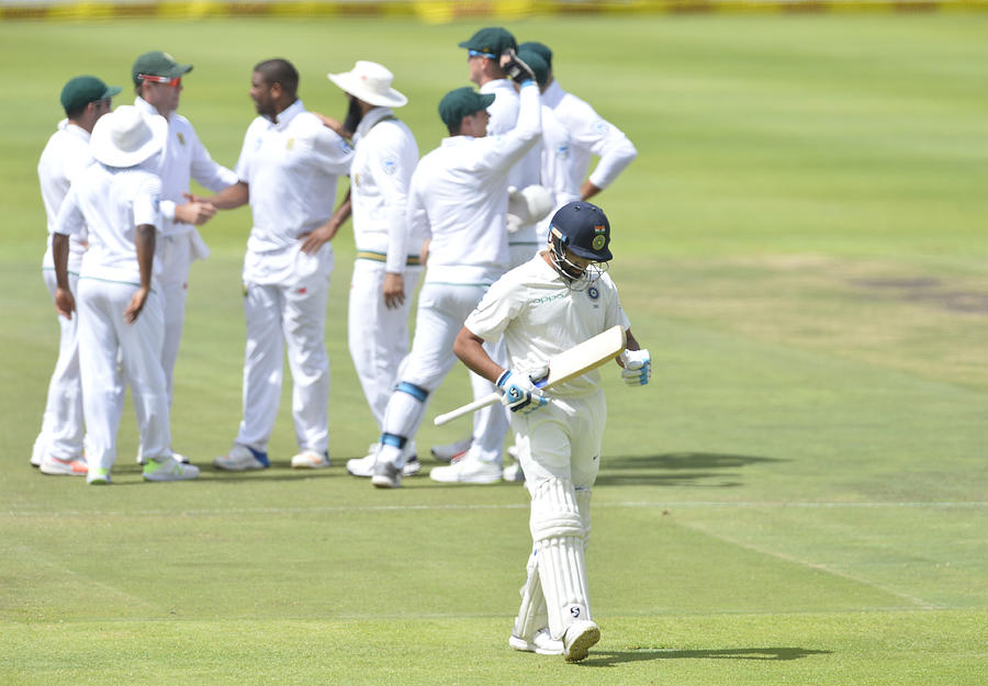 1st Sunfoil Test: South Africa v India, Day Four Photograph by Gallo Images