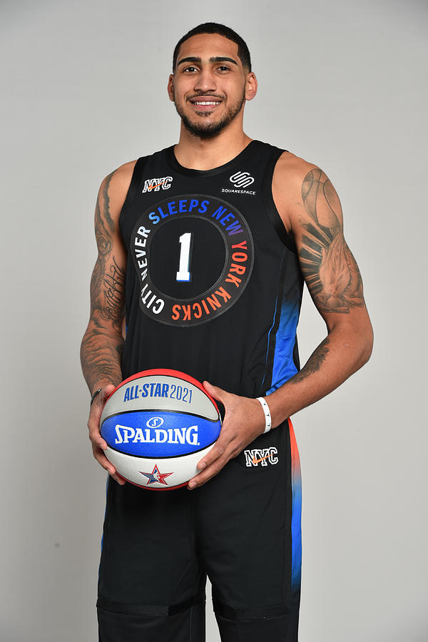 2021 NBA All-Star - AT&T Slam Dunk Contest Photograph by Jesse D. Garrabrant