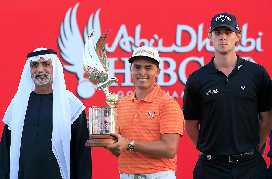 Abu Dhabi HSBC Golf Championship - Day Four Photograph by David Cannon