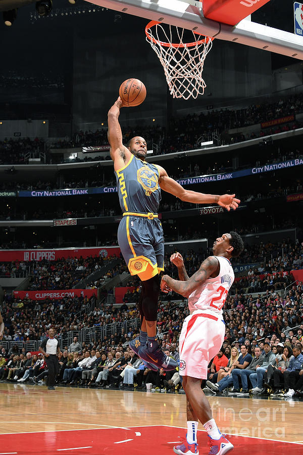Andre Iguodala Photograph by Andrew D. Bernstein