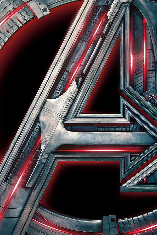 Avengers Age Of Ultron 2015 Digital Art By Geek N Rock