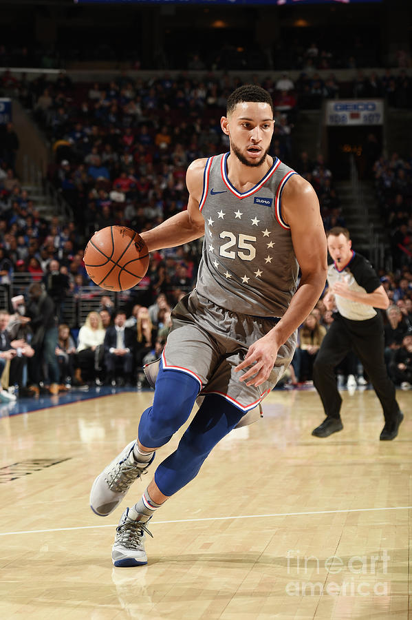 Ben Simmons Photograph by David Dow