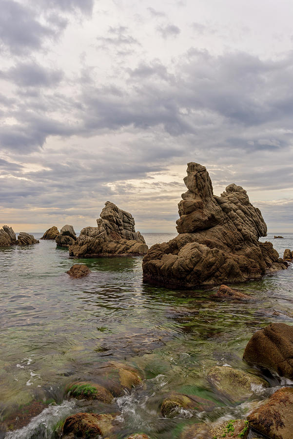 Spain Photograph - Cala Dels Frares In Lloret De Mar, Girona by Vicen Photography