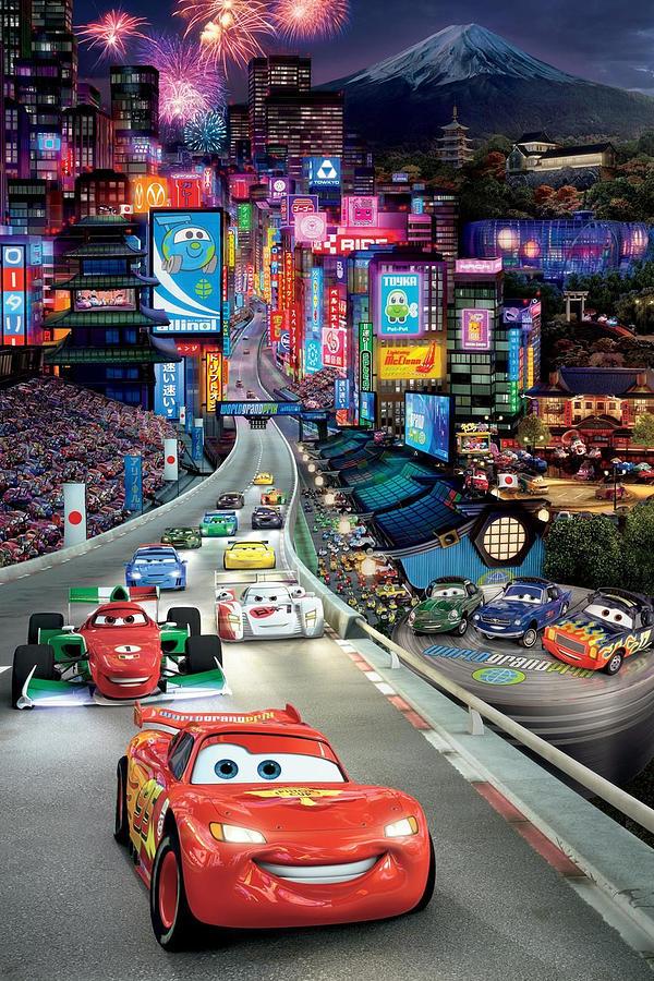 Cars 2 2011 Digital Art By Geek N Rock