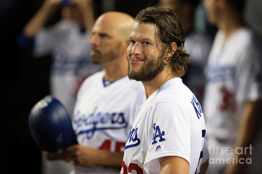 Clayton Kershaw Photograph by Sean M. Haffey