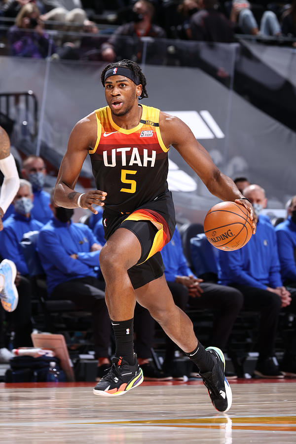 Dallas Mavericks v Utah Jazz Photograph by Melissa Majchrzak
